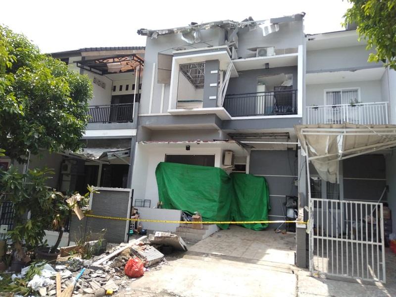 Tabung Gas 12 Kg Meledak di Bekasi, Satu Korban Dilarikan ke Rumah Sakit