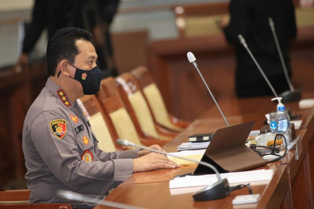 Komisi III DPR RI Setujui Listyo Gantikan Idham Azis Sebagai Kapolri