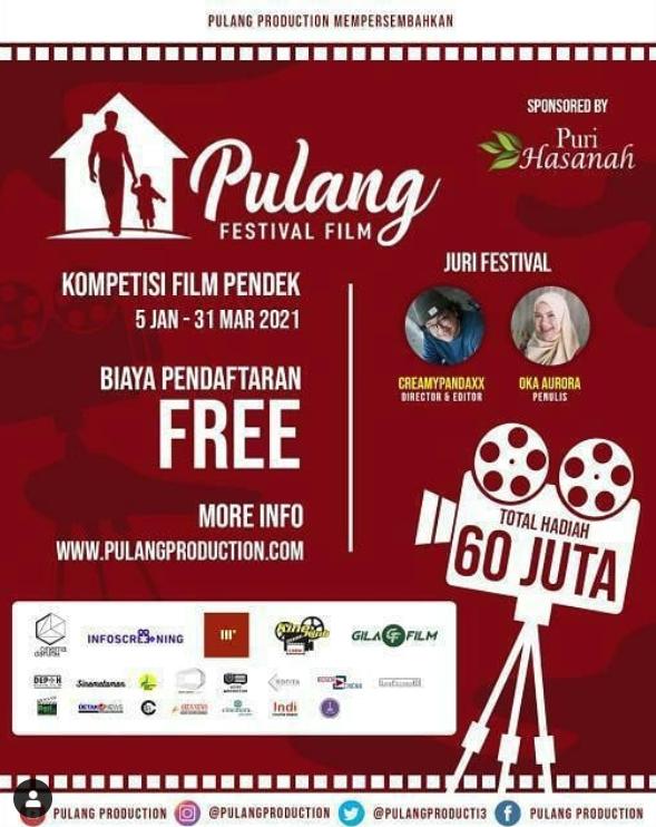 Ingin Berkreasi di Tengan Pandemi? Yuk, Daftar Pulang Festival Film Indonesia