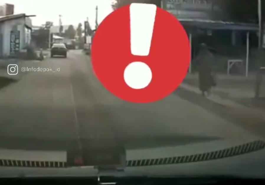 Viral, Beredar Video Pesepeda Diduga Jadi Korban Begal Payudara di Depok