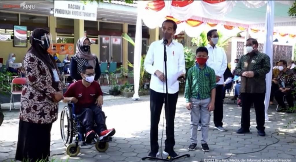 Jokowi: Jangan Euforia, Bahaya Covid-19 Terus Mengintip