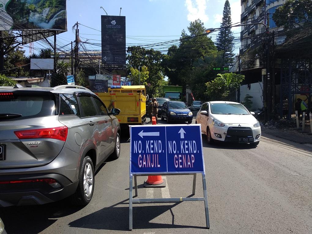 Ganjil Genap di Kawasan Wisata Bandung Berlaku Hari Ini