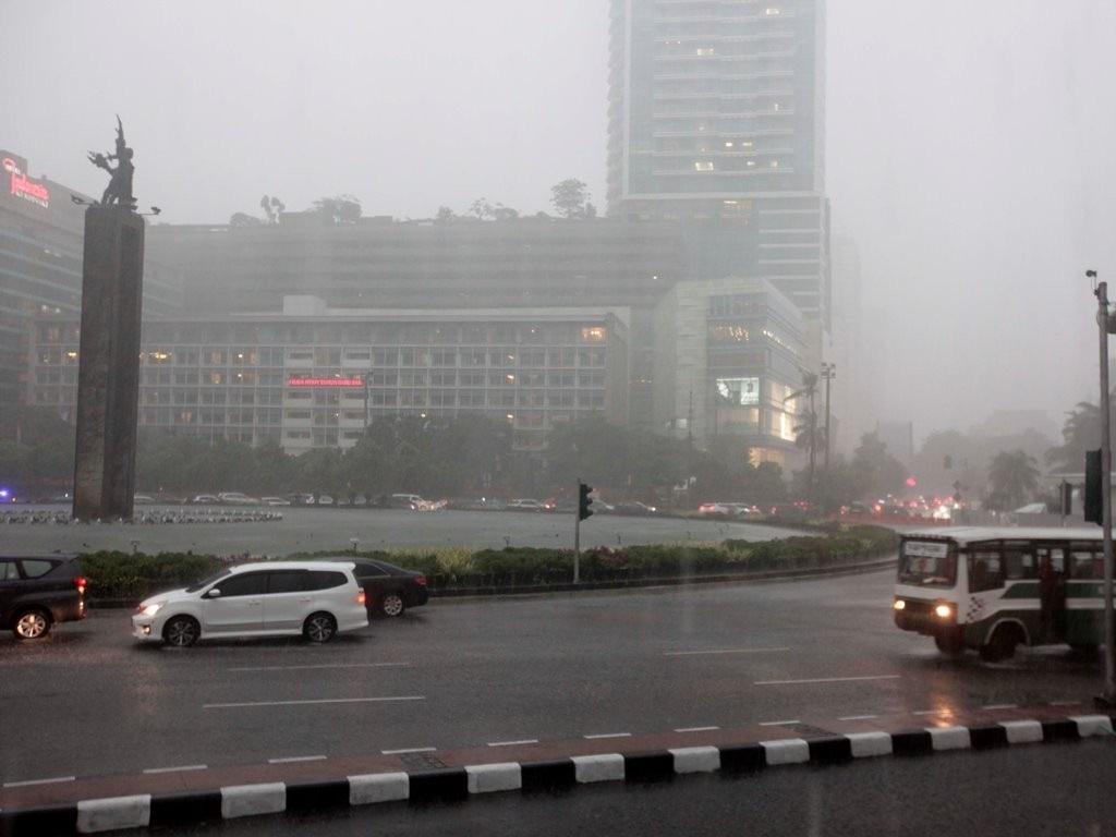 Ilustrasi hujan/Medcom.id